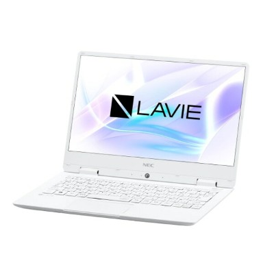 NEC ノートパソコン LAVIE Note Mobile NM550/KAW PC-NM550KAW [パールホワイト] [液晶サイズ:12.5インチ CPU:Core i5 7Y54(Kaby...