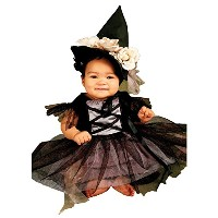 Lace Witch Infant/Toddler Costume 魔女乳児/幼児コスチュームレース サイズ:12-18 Months