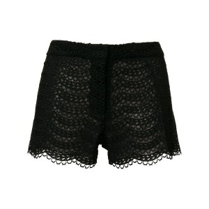 Giambattista Valli embroidered shorts - ブラック