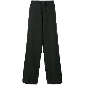 Société Anonyme wide smoking pants - ブラック