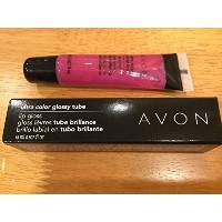 (エイボン リップグロス) AVON ULTRA COLOR GLOSSY TUBE LIP GLOSS IN BURSTING PINK-  polo