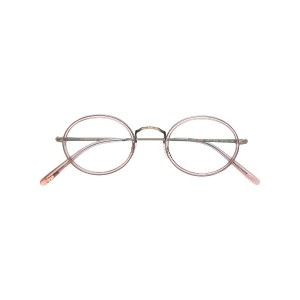 Oliver Peoples オーバル眼鏡フレーム - ピンク