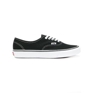 Vans classic lace-up sneakers - ブラック