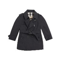 Burberry Kids The Wiltshire Trench Coat - ブルー