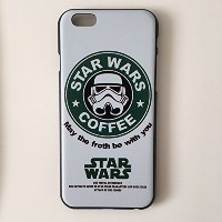 STAR WARS × STARBUCKS COFFEE スターウォーズスタバ iPhone対応 (iPhone5/5S/SE用(共通))