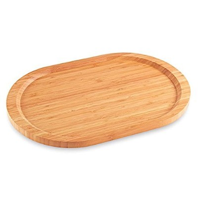 Pampered Chef Large Bamboo Platter # 2497