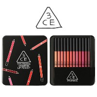 3CE ドローイング リップペンキット 3CE Drawing Lip Pen Kit 12pcs Lip Pencil Set