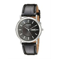 Citizen Men's BM8240-03E Eco-Drive Black Leather Watch [並行輸入品]
