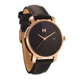 MVMT Watchesレディース腕時計ROSE GOLD/BLACK LEATHER