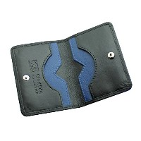 Men's Ultra Slim RFID BlOCKING High Quality Genuine Leather Credit Card Holder Wallet Mini Card...