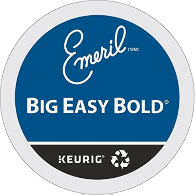 Emeril's Big Easy Bold Coffee K-Cup Portion Pack for Keurig Brewers, 24-Count by Emeril