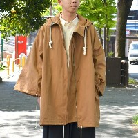 too good(トゥーグッド) / THE EXPLORER COAT PLAIN COTTON -BOX BROWN-