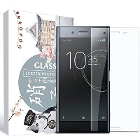 Tenfly Sony Xperia XZ1 ガラスフィルム 全面保護 硬度9H Xperia XZ1 フィルム さらさら 覗き見 指紋防止 気泡レス 強化ガラス 旭硝子素材 ソニー エクスペリア...