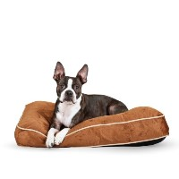 K&H Manufacturing Tufted Pillow Top Bed Chocolate 20-Inch by 30-Inch by K&H Manufacturing
