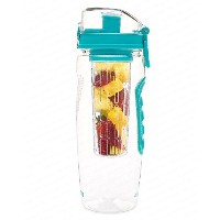 Best Fruit Infused Water Bottle - Large 32 Oz - Teal - Infusion H2O (More Color Options) by...