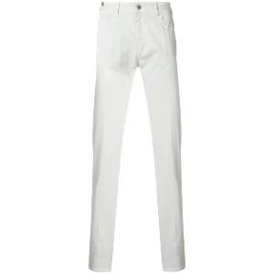 Notify classic skinny-fit jeans - ホワイト