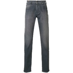 Notify classic slim-fit jeans - グレー
