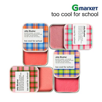 【too cool for school】【トゥークールフォースクール】チェックゼリーブラッシャー/CHECK JELLY BLUSHER/全7色/8g/メイクアップ/チーク/カラーチーク...