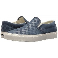 Vans バンズ シューズ 靴 スニーカー 運動靴 Vans バンズ Classic Slip-On(TM) - (Checker Emboss) Vintage Indigo/Marshmallow