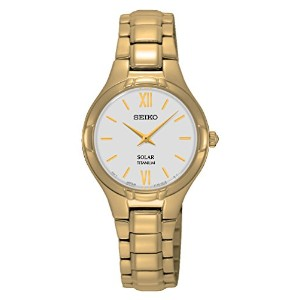 【SEIKO/腕時計】 SOLAR TITANIUM ladies watch [SUP282P1]  逆輸入品
