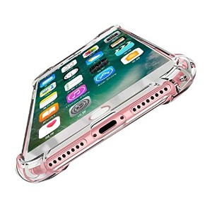 AXYO iPhone8 Plus ケース iPhone7 Plus クリア カバー TPU ソフト 衝撃吸収 背面カバー 超軽量 極薄 落下防止 耐スクラッチ iPhone 8 plus /...