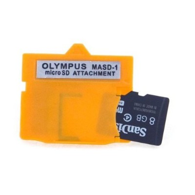 NEON Olympus MASD-1 xD Picture Card card adapter for microSD / microSDHC by Neon [並行輸入品]