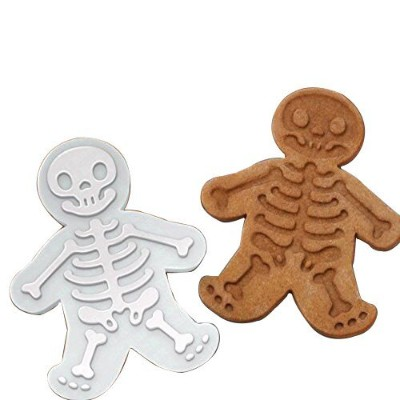 The Easiest Skull Cookies Ever Cutter/Stampers & SWEET SPIRITS Day of the Dead Cookie Cutter &...