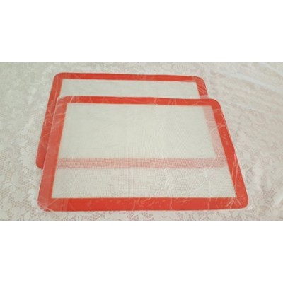 The Trusty baker-silicone Baking mat-のセット2- Non stick-半分sheet- 165/ 8x 11