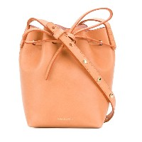 Mansur Gavriel mini bucket shoulder bag - ブラウン