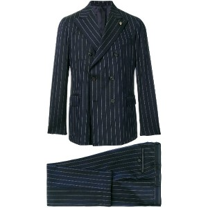 Gabriele Pasini classic double-breasted suit - ブルー