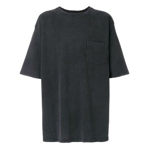 Warren Lotas oversized back graphic T-shirt - ブラック