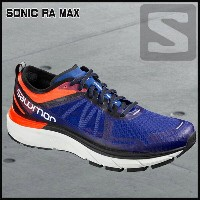 サロモン SalomonSONIC RA MAXSHOCKING ORANGE/SURF THE WEB/WHITE