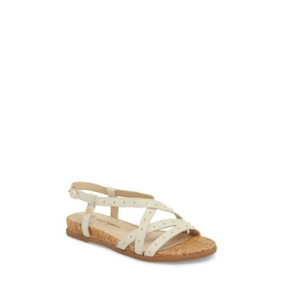 ハッシュパピー レディース サンダル シューズ Hush Puppies Dalmatian Studded Sandal (Women) Ivory Leather