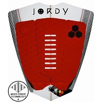 AL MERRICK アルメリック デッキパット JORDY SMITH ARCH PAD 3ピース CHANNEL ISLANDS (RED)