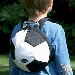 Clippasafe Toddler Daysack with Detatchable Lead Rein - Football Design Age 1-4+ Years by Clippasafe...