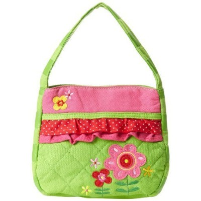 Stephen Joseph Little Girls' Quilted Purse, Flower, One Size Size: One Size Colour: Flower, Model:,...