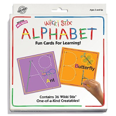Wikki Stix Alphabet Fun Cards for Learning by WikkiStix