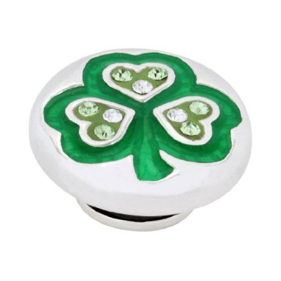 KameleonジュエリーLuck of the Irish Shamrock Sparkle JewelPop kjp302