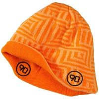 Nike Men's T90 Reversible Beanie Hat Orange 321680-809 One Size