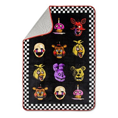 """Five Nights At Freddy 's Bed Blanket (ツイン) 90"""" x 60"""""""