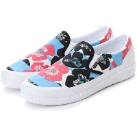 【SALE 40%OFF】ハンター HUNTER ORG FLORAL STRIPE PLIMSOLL (FSP) レディース