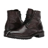 フライ メンズ シューズ・靴 ブーツ【Greyson Lace-Up】Dark Brown Deer Skin Leather