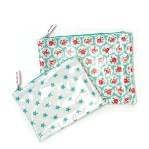 Cath Kidston キャスキッドソン ポーチ Double Make Up Bag ポーチ2個セット 化粧ポーチ 小物入れ