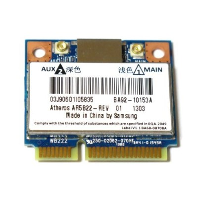 Atheros AR5B22 Dual Band 802.11a/b/g/n + BlueTooth 4.0 Combo Card(Intel 6235同等)無線LANカード