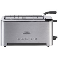 Kenwood TTM610 Persona Collection Toaster with Adjustable Toasting Slot and Sandwich Basket, Silver...
