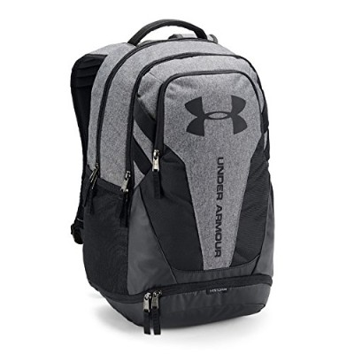 UNDER ARMOUR(アンダーアーマー)ハッスル3.0 バックパック スポーツバッグ リュック メンズ 1294720 042GME×BLK×BLK ONESIZE