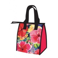 Hawaiian Medium Insulated Lunch Bag Hibiscus Impressions by Welcome to the Islands [並行輸入品]
