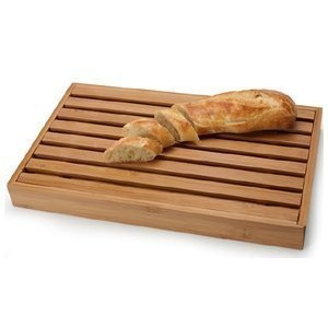 Danesco 3020215竹Bread Cutting Board with Crumb Catcher、15 by 22.86 CM by Danesco