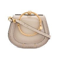 Chloé Nile small bracelet bag - ヌード&ナチュラル