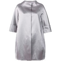 Gianluca Capannolo cropped sleeved coat - グレー